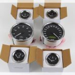 Black Faced KPH Gauge Set